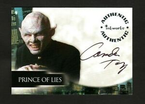 ANGEL SEASON 5 AUTOGRAPH CARD A43 CAMDEN TOY PRINCE OF LIES