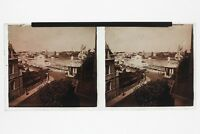 Ville A Identificare Casinò UK Francia ? Foto N2 Placca Stereo 6x13cm Vintage