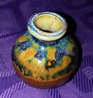 Vintage+Small+Weed+Pot+%2F+Vase+Signed+Studio+Art+Stoneware+Pottery+Gorgeous+Glaze