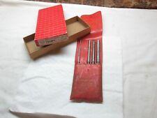 Starrett S248pc 1814516 38 4 Pc 8 Drive Pin Punch Set In Original Box