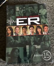 ER: SEASON 15/Fifteen - The Final Season DVD 5-Disc Set >NEW<