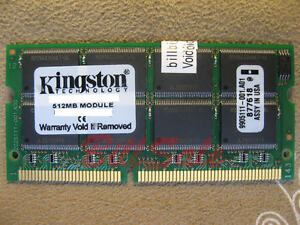 JP KINGSTON 512MB X1 SODIMM 144PIN PC133 SDRAM laptop notebook memory RAM 2