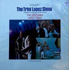 TRINI LOPEZ SHOW - TV SOUNDTRACK - W7 / REPRISE LP - FEAT. VENTURES, NANCY AMES