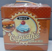 Bella Cupcake Maker Kit New In Tin Box