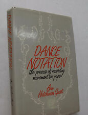 Dancing Movement Dance Notation Ann Hutchinson Guest Illus. Ballet Choreography