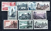 France 1955-57 Views set mint LHM Cat Val £46 WS16398