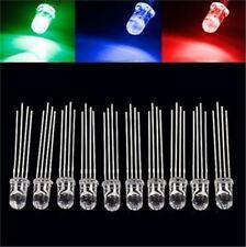 100Pcs Led Rgb 4-Pin F5 5Mm Super Bright Bulb Lamp Common Cathode New Ic cs