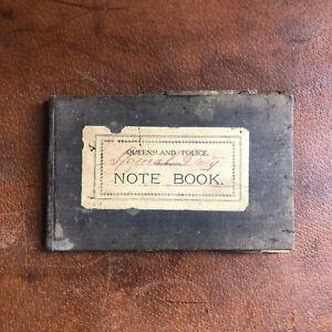 vintage 1940s queensland police special duty note book vintage