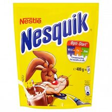 NESTLE NESQUIK Plus Instant Cocoa Hot or Cold Drink with Vitamins 400g 14oz