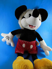 "Christmas Whip Stitch 18"" Mickey Mouse Disney Store Santa Hat Plush Doll"