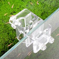 Acrylic Aquarium Fish Tank Water Pipe Hose Fixing Clip Tube Holder Clamp/Durable