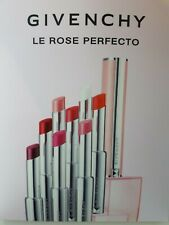 Selection of Givenchy Lipstick Samples - Perfect Pink, Fearless Pink & Blue Pink