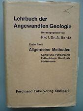 Lehrbuch der Angewandten Geologie Bd. 1 Allgemeine Methoden Kartierung ...