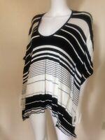 BCBGMAXAZRIA Women's Black & White Tunic Size XS-S