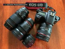 CANON EOS 60D DSLR KIT - Includes Multiple Lenses, Pelican Hard Case, + Extras!