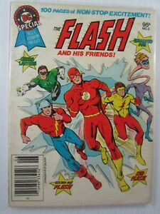 1980 THE FLASH DC Special #2  Blue Ribbon Digest 7.5 VF-
