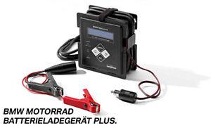 ORIGINAL BMW Motorrad Batterieladegerät Plus 77022470950 NEUES MODELL