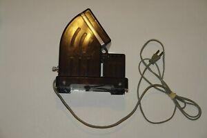 Vintage Bakelite Airequipt Model T-1 Brown Slide Viewer Tested Working