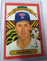 1989 Donruss Nolan Ryan King Of Kings RARE ERROR No Number Variation(#665)NM/M