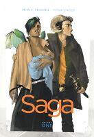 Saga Volume 1 Brian K. Vaughn Image Comics TPB Trade Paperback New Mature