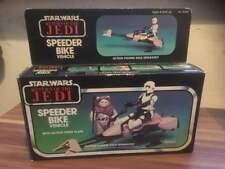 VINTAGE STAR WARS SPEEDER BIKE BOXED WITH UNUSED CONTENTS