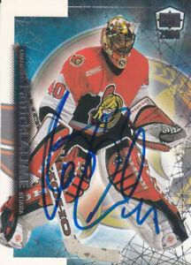 Patrick Lalime Autograph 99-00 Ice Senators Card  Penguins - Sabres