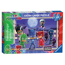 Ravensburger PJ Masks Extra Large Glow in the Dark Jigsaw Puzzle (60 pièces) NEUF