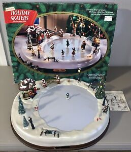 1995 Mr. Christmas Holiday Skaters Victorian 1890 Plays 50 Songs •Incomplete•