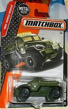 2016 Matchbox Heroic Rescue #85-125 Military Police Road Raider Diecast 4+ Boys
