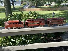 Lionel 53 Standard Gauge Brown 53 And Two Cars