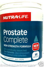 NUTRA LIFE -PROSTATE COMPLETE - HIGH STRENGTH FORMULA NUTRALIFE 60 Capsules