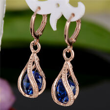 Fashion Design Wonderful 18k Gold Plated Colors cubic zirconia Dangle Earrings