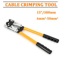 6 - 50 mm² Plug Crimp Crimping Tool Battery Cable Lug Hex Terminal Crimper