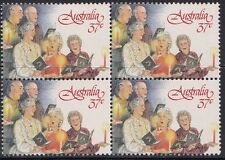 Australia 1987 Carols by Candlelight Set of 2 Blocks of 4 - AU1049/50BK