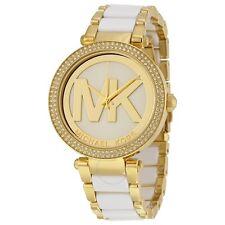 Michael Kors Women's Parker Two-Tone Stainless Steel Bracelet Watch 39mm MK6313
