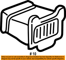 FORD OEM Dash Air Vent-AC A/C Heater Duct Outlet Louvre Left 5C3Z19893DAA