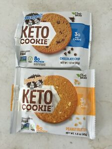 100 Lenny & Larry's  Keto Cookies 2 Flavors protein energy nutrition
