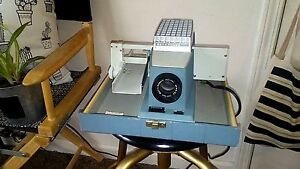 Vintage Working Bell & Howell Project-or-View 300 Projector Wooden B & H Case