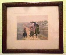 Original künstlerische Malereien der Zeit-Papier im Jugendstil