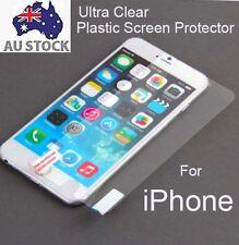 3x Clear Matte Plastic TPU Screen Protector iPhone 6 6s 6 Plus 7 7 Plus 8 Plus X
