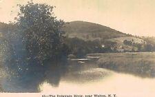 RPPC,Walton,New York,The Delaware River,# 45,Delaware County,Used,c.1910