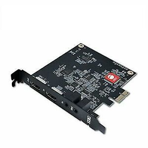 SIIG Live Game HDMI Capture PCIe Card (CE-H25111-S1)