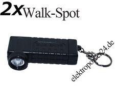 2x LED Lenser Walk-Spot 7517 Torch Flashlight Hand Lamp White Light Lamp