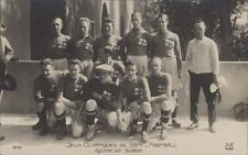 FOOTBALL JUEGOS OLIMPICOS 1924  EQUIPE DE SUEDE  N°305 REAL PHOTO