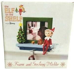 Roman Elf On The Shelf Picture Frame And Stocking Holder Christmas New