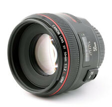 Canon EF 50mm F/1.2L USM Lens Made in Japan (Express Shipping)