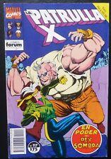 Comic Patrulla X,Nº 117,1992,Marvel Comics,Forum,Saga Isla Muir