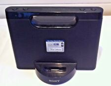 Sony RDP-M5iP Portable Dock System iPhone 4/4S/3G Battery Operated Main Unit