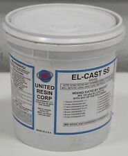 URC United Resin El-Cast High Thermal/Strength Electronic Epoxy Adhesive 8 lb