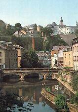 Alte Postkarte - Luxembourg - L'Alzette pittoresque au Grund